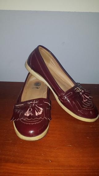 Chatas Zapato Dama Tipo Mocazines