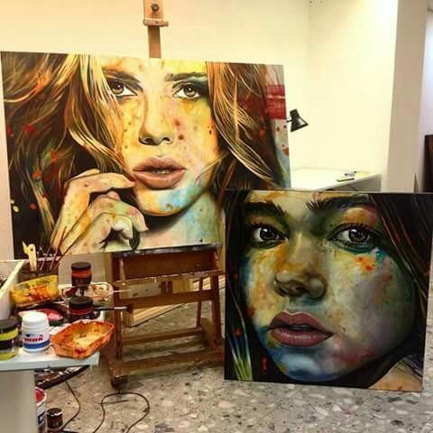 Obras De Arte Hechas A Mano Con Excelentes Acabados