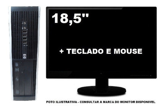 Computador Hp 6005 Athlon Ll 8gb 250gb Mon 18,5 - Seminovo