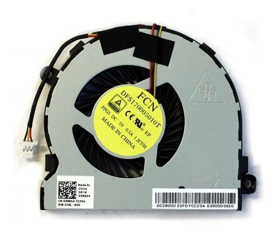 Cooler Para Notebook Dell Inspiron I14-5448 Pn: 03rrg4 3rrg4