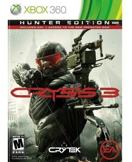 Crysis 3 - Hunter Edition - Xbox 360 - Novo