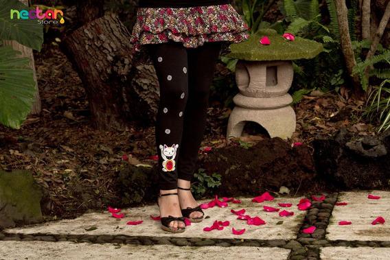 Leggings Mallónes Para Mujer De Algodón Tr035 Gato