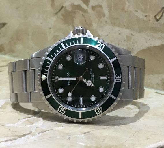 Relogio Phoibos Submariner Tipo Rolex, Steinhart