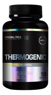 Thermogenic 120 Caps Probiótica - Termogênico Cafeína 200mg