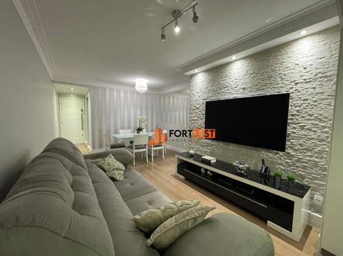 Apartamento Com 3 Dormitórios À Venda, 80 M² Por R$ 630.000,00 - Vila Carrão - São Paulo/sp - Ap0093