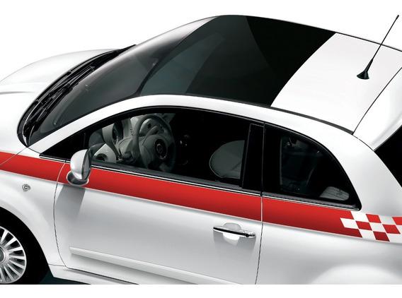 Adhesivos Laterales Fiat 500 07/18
