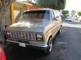 Ford Econoline 84 Auto Antiguo Circula Diario No Verifica