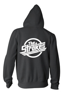Combo The Strokes Campera + Remera + Gorra