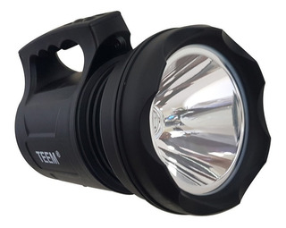 Lanterna Led Holofote Super Potente 30w T6 Tm 6000 Teem