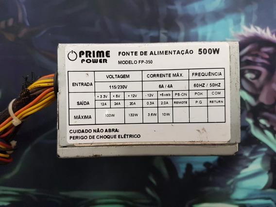 Fonte Atx 24 Pinos Prime Power Fp-350