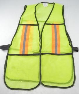 Chaleco Seguridad Reflejantes Pretul Unitalla Uso(ver Foto)
