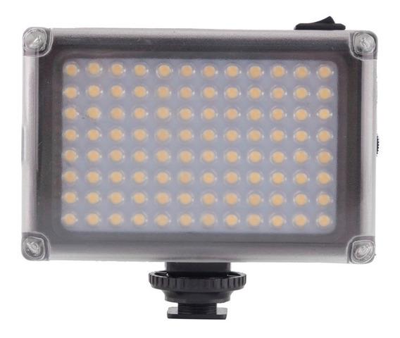 Iluminador A Pilha 96 Leds Para Camera Dslr Nikon Sony Canon