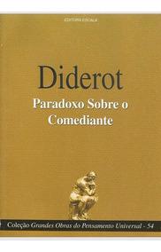 Livro Diderot - Paradoxo Sobre O Comediante + Brinde