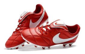 6199376e47d8c Chuteira Nike Tiempo Couro Canguru Primeira Linha - Chuteiras Nike ...