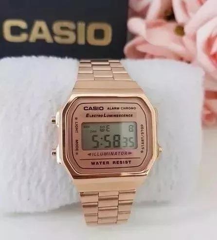 Relógio Feminino Rose Vintage Retro Com 50% De Desconto Novo