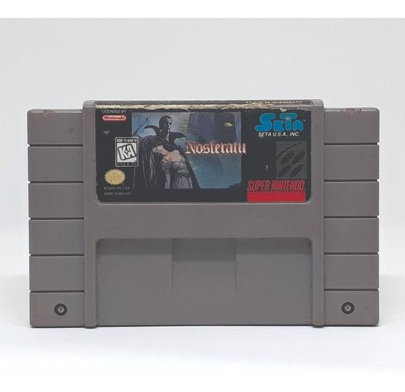 Nosferatu Snes Original! Loja Física!