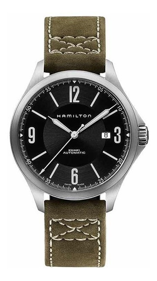 Relógio Hamilton Aviation Olive Automatic H76665835