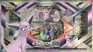 Juego De Cartas Pokemon Espeon Gx Premium Collection Box