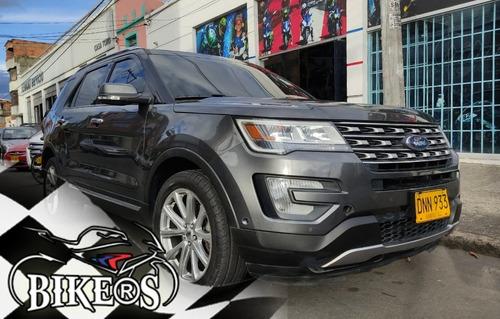 Ford Explorer Limited Americana 2016, Recibo Vehiculo!!