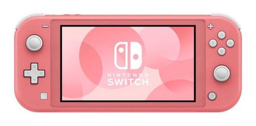 Imagen 1 de 7 de Consola Nintendo Switch Lite Coral