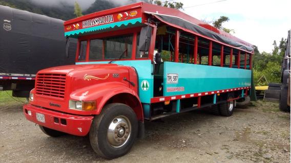Bus Escalera