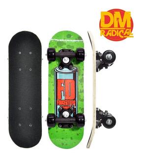 Mini Skate Infantil Radical Jr Para Iniciantes - Dm Radical