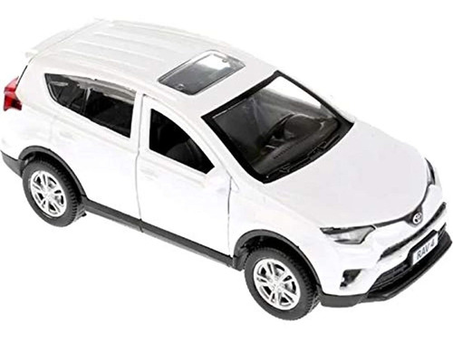 Diecast Toy Car Toyota Rav4 1/36 Escala Modelo De Metal