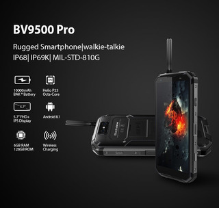 Blackview Bv9500 Pro 128gb 6gb 10000mah Pronta Entrega