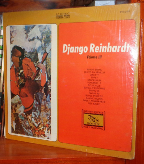 Django Reinhardt- Volume 3 - Vinilo Usa