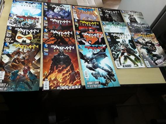 Kit Hqs Batman Eterno Os Novos 52! - 18 Volumes