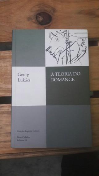 Livro: A Teoria Do Romance. Frete Mais Barato