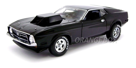 Ford Mustang 427 Drag Car 1971 Sohc Sunstar 1:18 Preto 3618