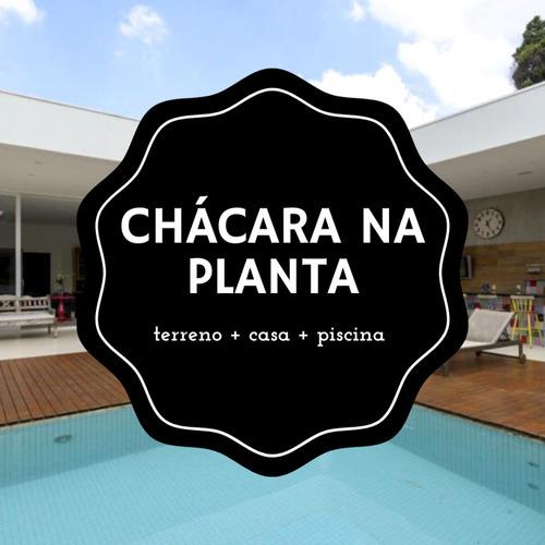 Chácara Na Planta - Pronta Em 180 Dias