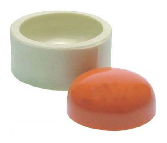 Molde Silicone Redondo 6cm Sabonete Artesanato Gesso