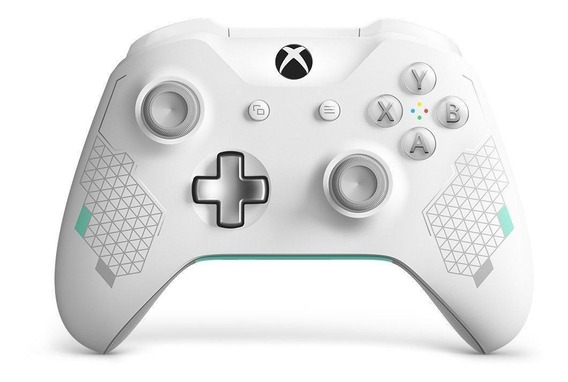 Controle joystick Microsoft Xbox One sport white