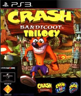 Crash Bandicoot Trilogía Ps3 3 Juegos En 1 En Español