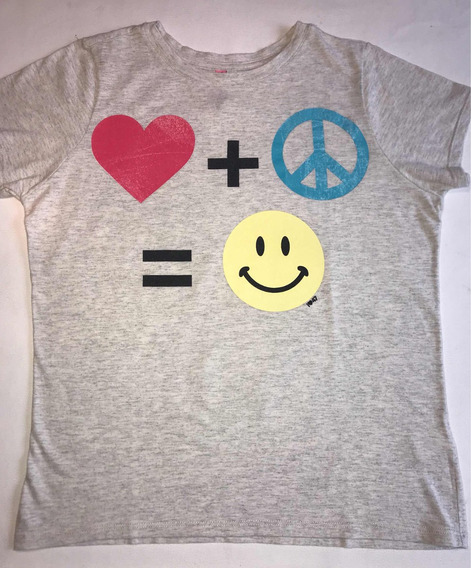Remera 47 Street Happy Face! T 2/40
