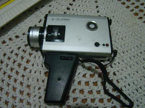 Antiga Filmadora Yashica Electro 8yxl , Super 8 , Ler Descr