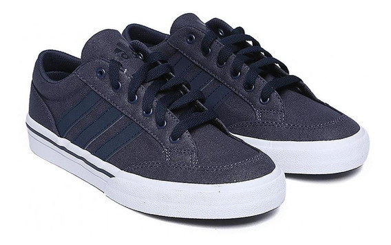 Tenis adidas Canvas Azul Unisex - Af5952