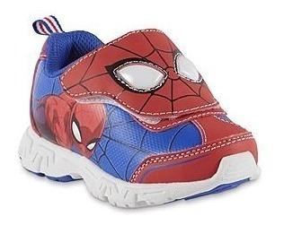 Zapatos Spiderman Luces Importado
