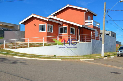 Casa Residencial À Venda, Terras De Atibaia, Atibaia - Ca0210. - Ca0210