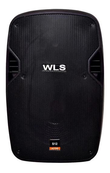 Caixa Ativa Wls S12 250 Watts 12 Usb Sd Bluetooth Bivolt