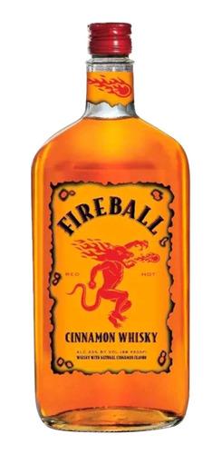 Licor Fireball De Canela & Whisky 750ml