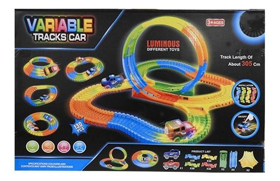 Pista Flexible 130 Pcs Con 1 Auto Luminoso 1728496 Full