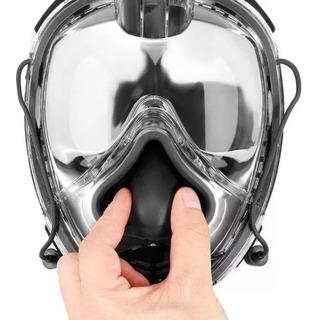 Mascara Integral Snorkel Buceo Full Face 2 Generacion Go Pro