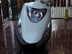 Moto Honda Elite 125 - Documentación Al Día Y Único Dueño.