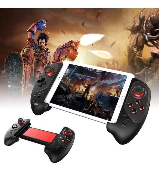 Controle De Jogo Sem Fio Gamepad Vermelho Bat Bluetooth Suav