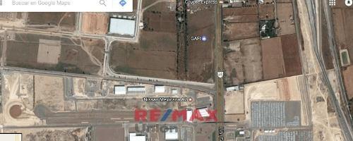 Terreno En Zona Industrial En Desarrollo, Entre Dos Plantas Automotrices