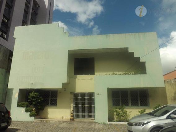 Ponto Comercial Para Locação, Centro, João Pessoa. - Pt0002