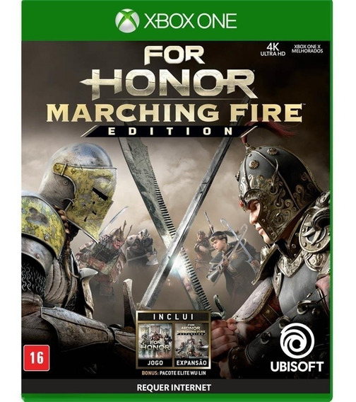 Jogo For Honor Marching Fire Edition Xbox One Midia Física